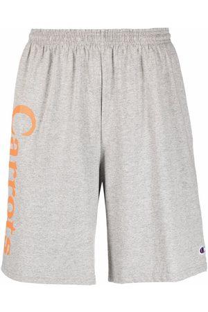 Carrots Men Sports Shorts - Rabbit-print track shorts - Grey