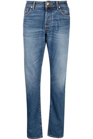 Jacob Cohen Men Straight - Straight-leg cotton jeans