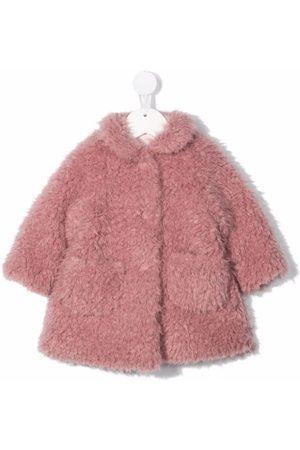 Il gufo Coats - Oversized faux fur coat