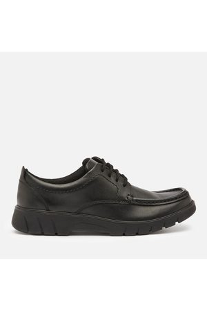 Clarks Branch Lace Youth School Shoes