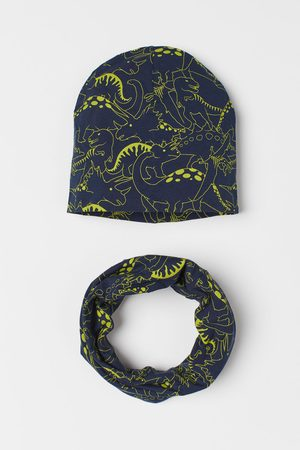 H&M Hat and Tube Scarf