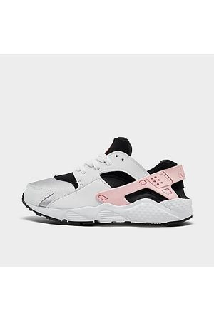 Nike Girls Casual Shoes - Girls' Little Kids' Huarache Run Casual Shoes Size 1.0 Spandex/Plastic