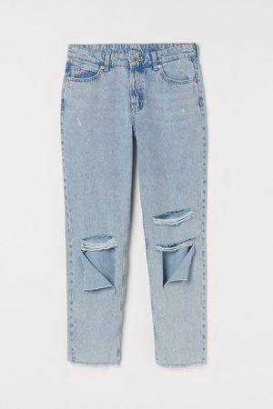 H&M Women Boyfriend Jeans - Boyfriend Low Regular Jeans