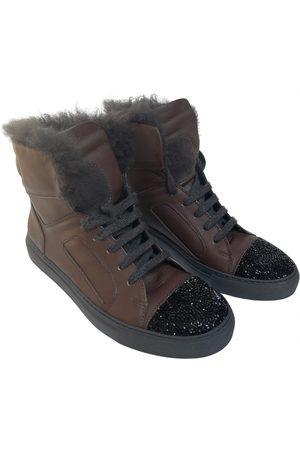 Brunello Cucinelli Leather trainers