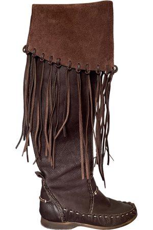 EL VAQUERO Leather boots