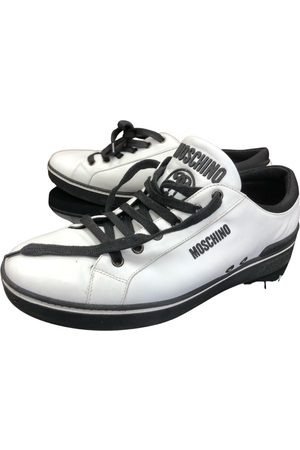 Moschino Men Sneakers - Leather low trainers