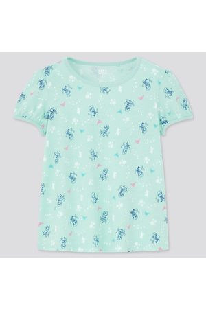 UNIQLO Girls Short Sleeve - Girl's Disney Heroines Ut (Short-Sleeve Graphic T-Shirt), , 3Y