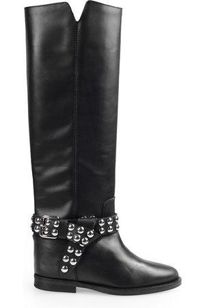 Via Roma Women Boots - Boots Women Pelle