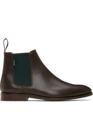 Paul Smith Men Chelsea Boots - Brown Gerald Leather Chelsea Boots