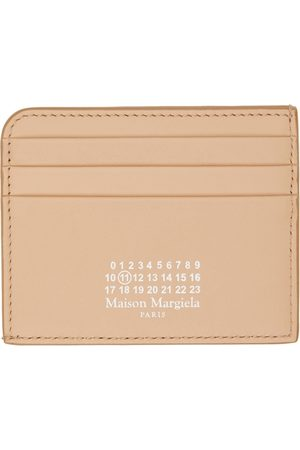 Maison Margiela Tan Logo Card Holder