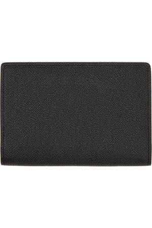 Maison Margiela Men Wallets - Black Passport Cover Wallet