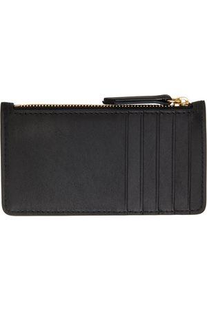 Maison Margiela Black Long Zip Card Holder