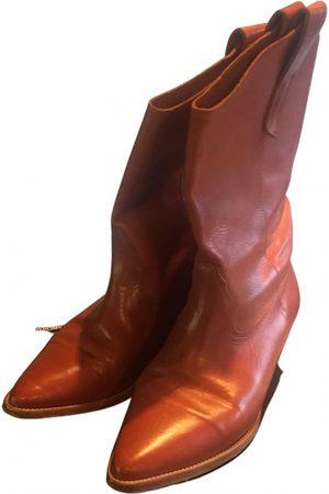 JÉRÔME DREYFUSS Leather western boots