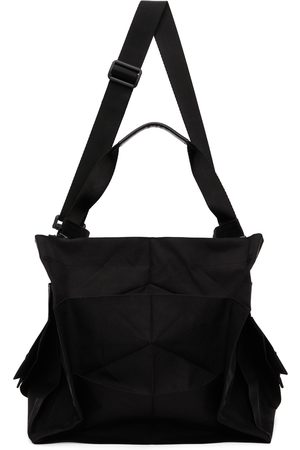 Issey Miyake Black Standard Messenger Bag