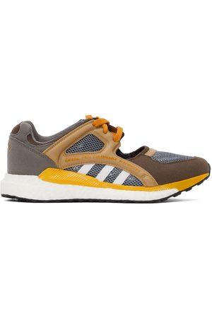 adidas Men Sneakers - Brown & Grey EQT Racing Sneakers