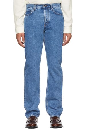 Séfr Blue Straight Cut Jeans