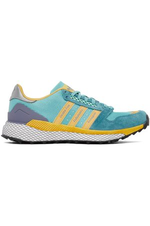 adidas Blue & Yellow Questar Sneakers