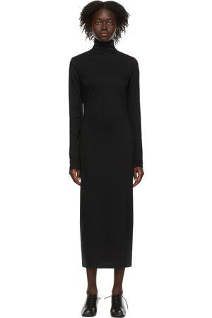 LEMAIRE Women Midi Dresses - Black Second Skin Dress