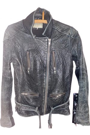IRO Leather short vest