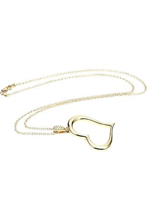 PIAGET Coeur yellow necklace