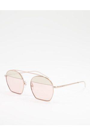 Emporio Armani Color block lens sunglasses