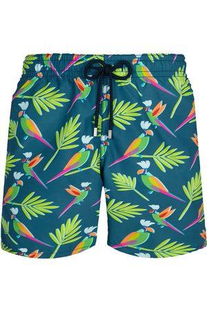 Vilebrequin Men's Parrots Swim Trunks