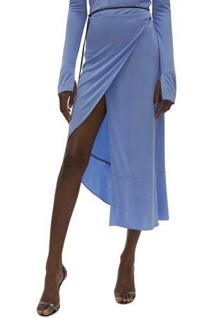 Helmut Lang Women's Asymmetric Wrap Skirt