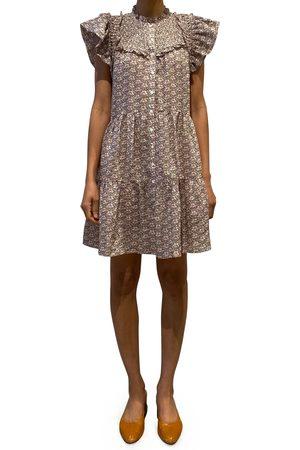 SEA Women's Amalia Floral Tiered Tunic Dress