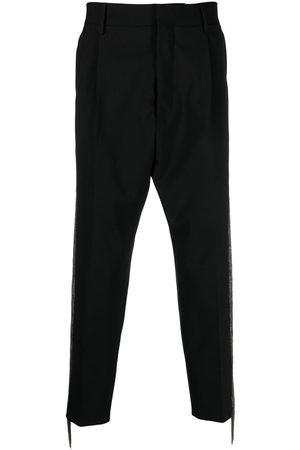Dsquared2 Men Formal Pants - Fringe-detail tailored trousers