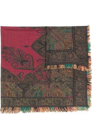 Etro Paisley-print fringed-edge scarf