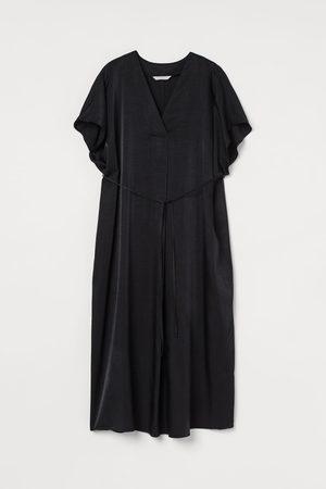 H&M Women Tunic Dresses - MAMA V-neck Kaftan Dress