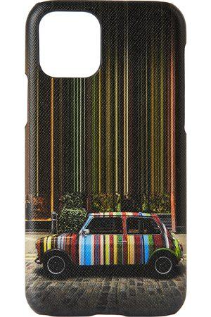 Paul Smith Phones Cases - Mulitcolor 'Mini' Covent Garden iPhone 11 Pro Case