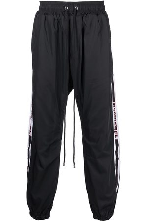 DOMREBEL Men Sweatpants - Logo-tape track pants