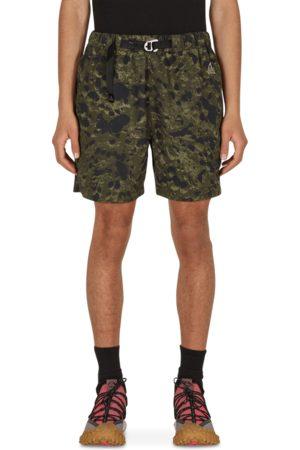 Nike Men Sports Shorts - Trail aop shorts SEQUOIA/ S