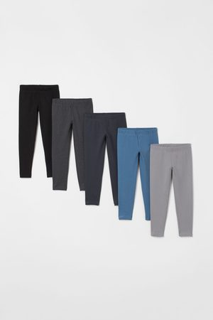H&M Kids Jeans - 5-pack Cotton Leggings