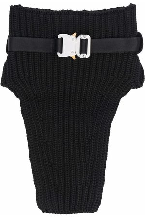 1017 ALYX 9SM Ribbed-knit buckled collar