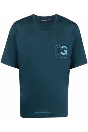 Dolce & Gabbana Men T-shirts - Logo-patch cotton T-shirt