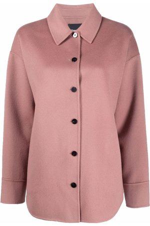 THEORY Women Jackets - Button-down shirt jacket