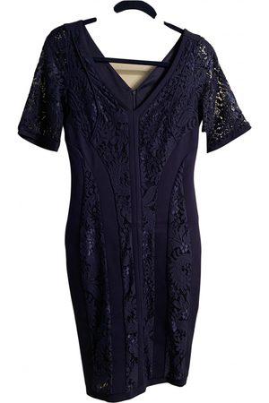 Shelli Segal Lace mid-length dress
