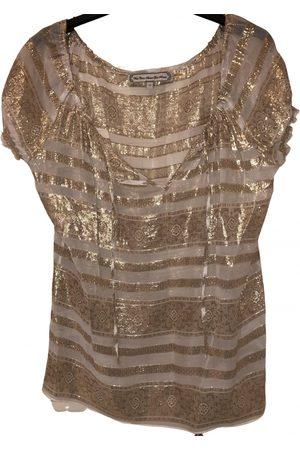 WHAT GOES AROUND COMES AROUND Silk blouse