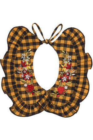 PAADE Multi Reversible Ruffle Rowan Collar - Girl - S (2-5 years) - - Velvet collars