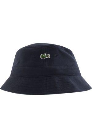 Lacoste Men Hats - Logo Bucket Hat Navy