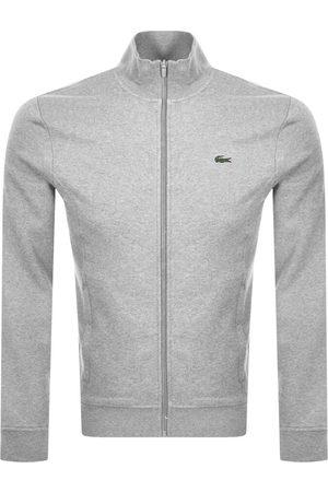Lacoste Sport Zip Up Sweatshirt Grey