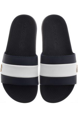 Lacoste Men Slippers - Croco Sliders Navy