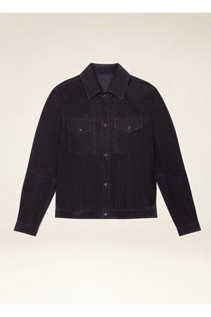 Bally Suede Shirt Jacket 54
