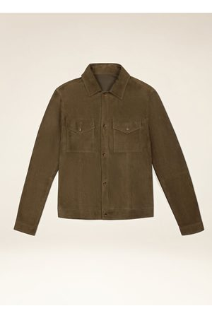 Bally Suede Shirt Jacket 56