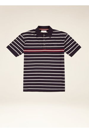 Bally Striped Polo Shirt Xxs
