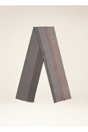 Bally Men Scarves - Striped Scarf Grey 1