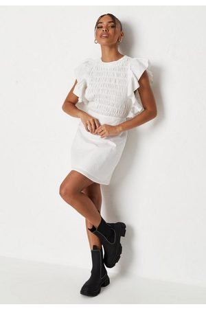 Missguided Women Party Dresses - Shirred Bust Sleeveless Mini Dress