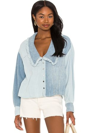 Free People Daisy Baby Button Down Top in .